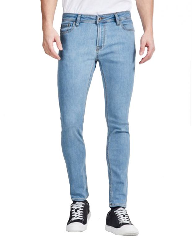 JACK&JONES Liam Original Jeans Blue - 12136612/blue - 1