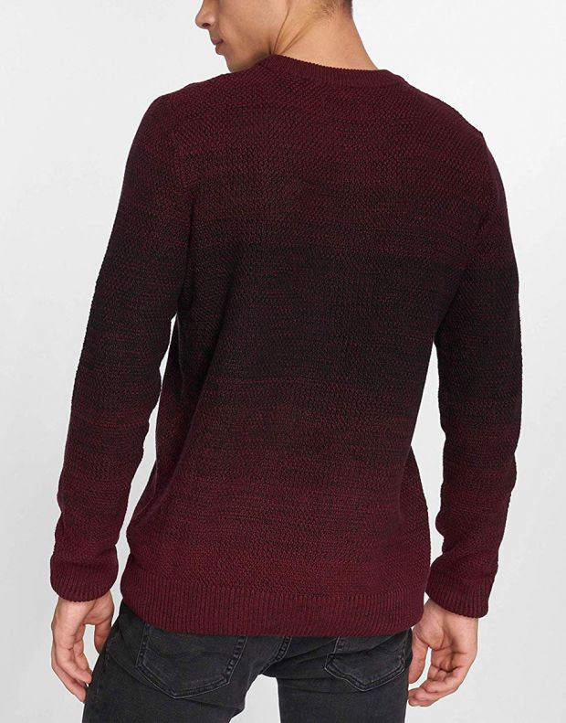 JACK&JONES Twin Knit Red - 12136830/red - 2