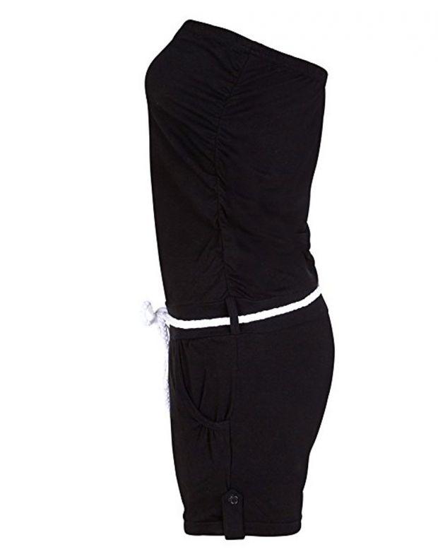 STITCH&SOUL Black Allover Jumpsuit - 2