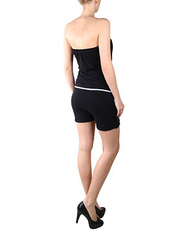 STITCH&SOUL Black Allover Jumpsuit - 4