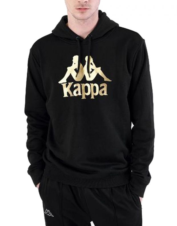 KAPPA Authentic Esmio Logo Hoody Black - 1