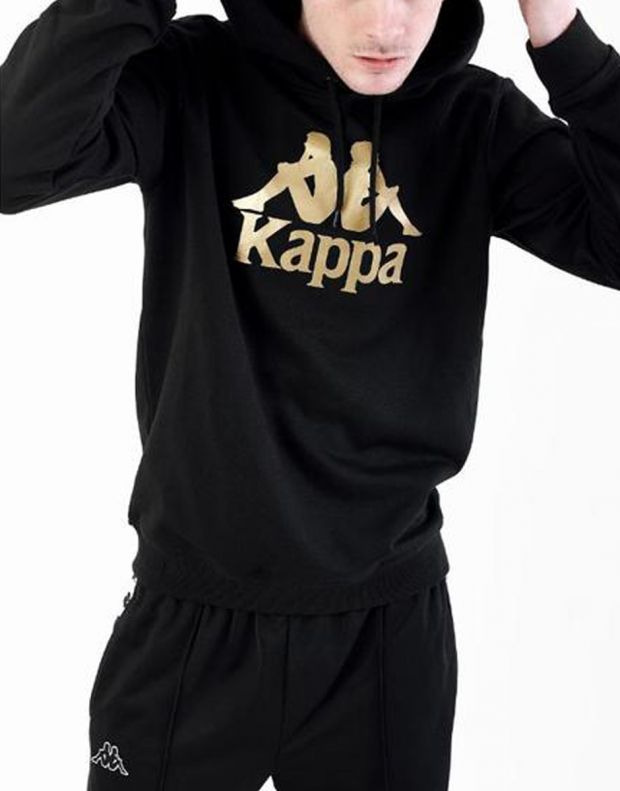 KAPPA Authentic Esmio Logo Hoody Black - 3