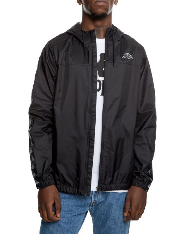 KAPPA Dawson Banda Jacket Black/Grey - 303WA70-934 - 1