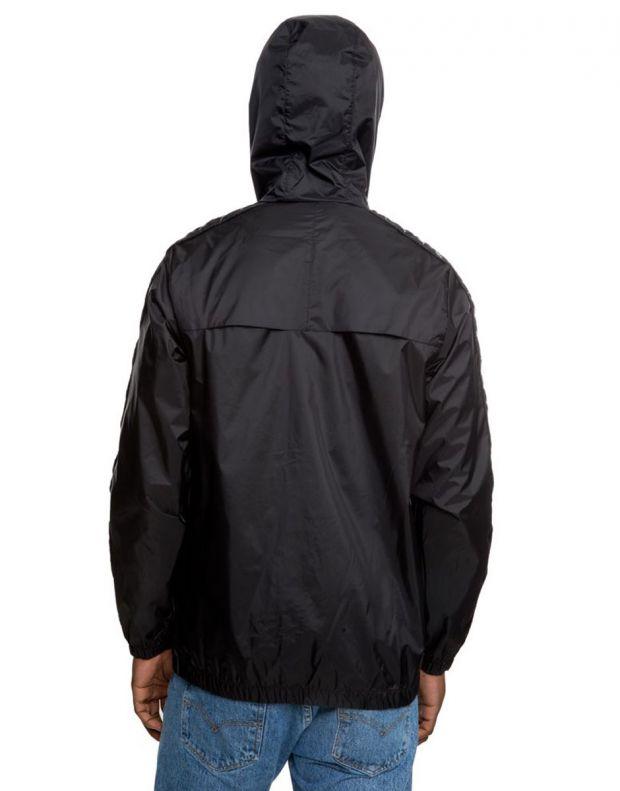 KAPPA Dawson Banda Jacket Black/Grey - 303WA70-934 - 2