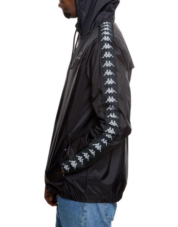 KAPPA Dawson Banda Jacket Black/Grey - 303WA70-934 - 3