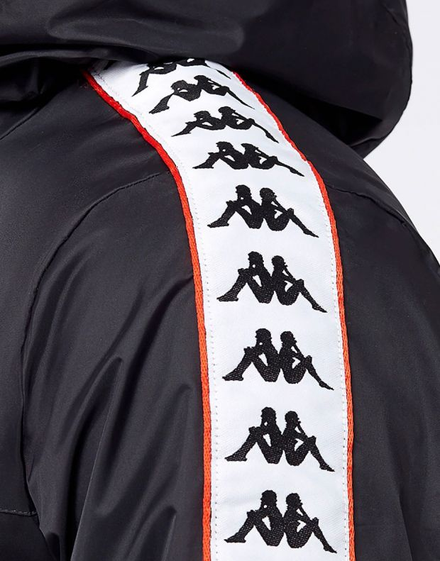 KAPPA Dawson Banda Jacket Black/Red - 303WA70-912 - 4