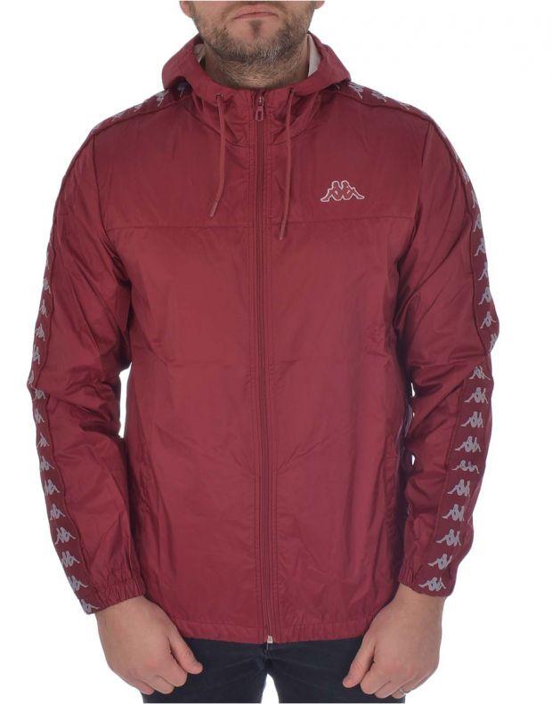 KAPPA Dawson Banda Jacket Bordo - 303WA70-953 - 1