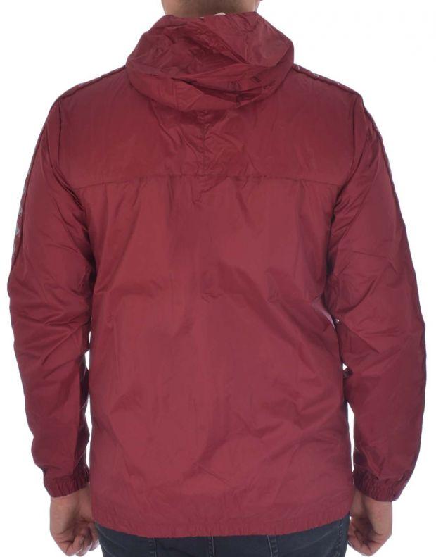 KAPPA Dawson Banda Jacket Bordo - 303WA70-953 - 2