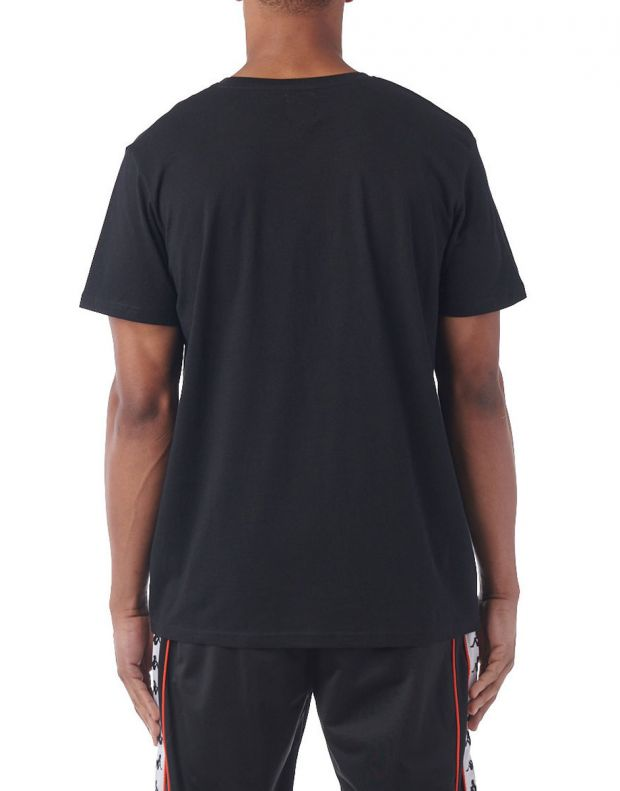 KAPPA Estessi Tee Black/Red - 2