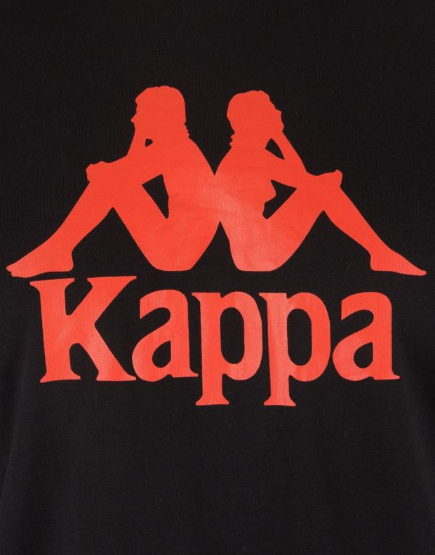 KAPPA Estessi Tee Black/Red - 4
