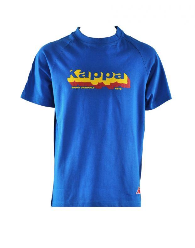 KAPPA Problock Tee Blue - 301H1L0-012 - 1