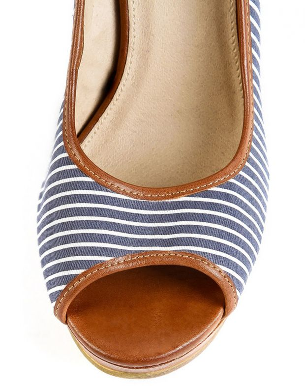RESERVED Blue Line Wedge - 4
