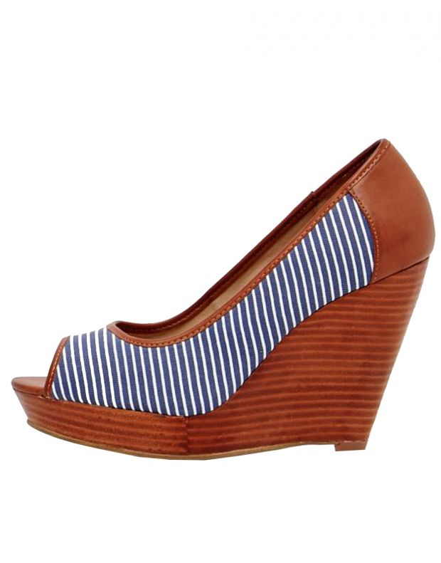 RESERVED Blue Line Wedge - 1