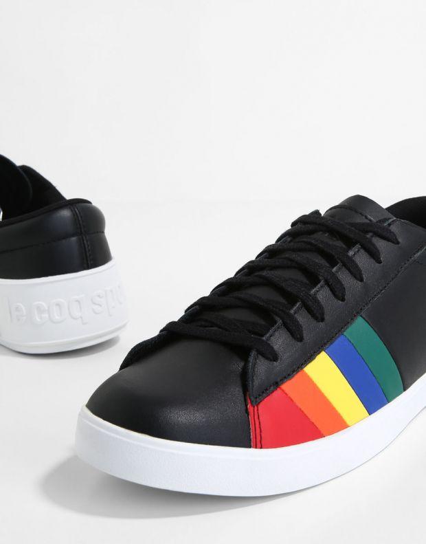 LE COQ SPORTIF Flag W Rainbow Black - 4