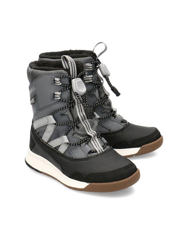 MERRELL Snow Crush Waterproof Boots Black - MK259170 - 3