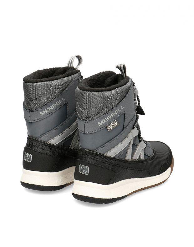 MERRELL Snow Crush Waterproof Boots Black - MK259170 - 4