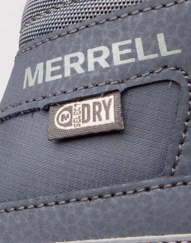 MERRELL Snow Crush Waterproof Boots Black - MK259170 - 6