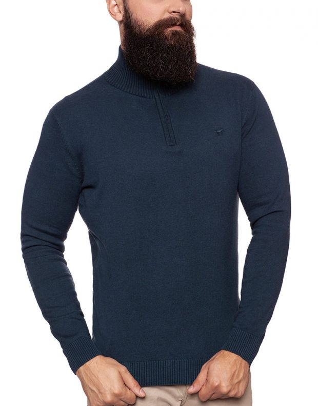 MUSTANG Troyer Pullover Navy - 3