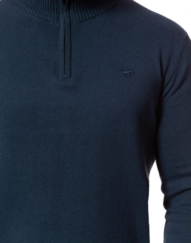 MUSTANG Troyer Pullover Navy - 4