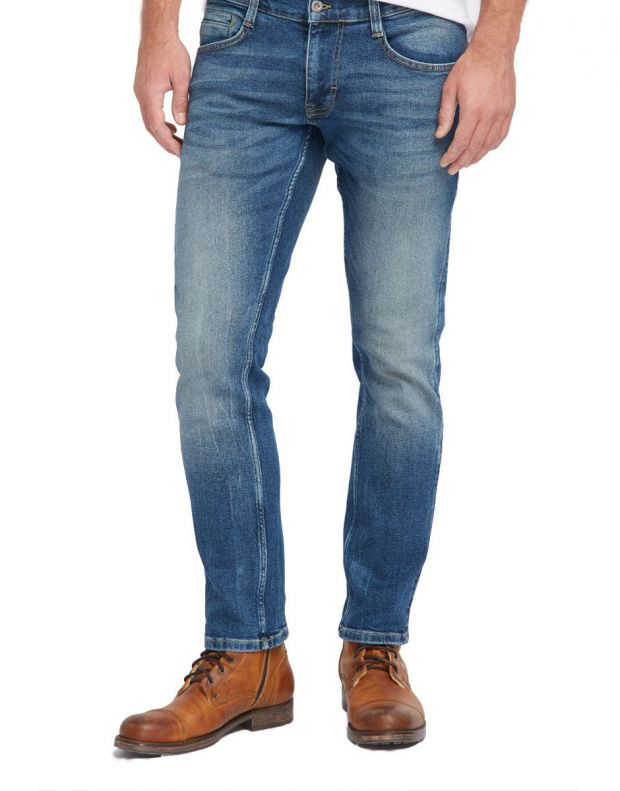 MUSTANG Oregon Tapered Jeans Blue - 1