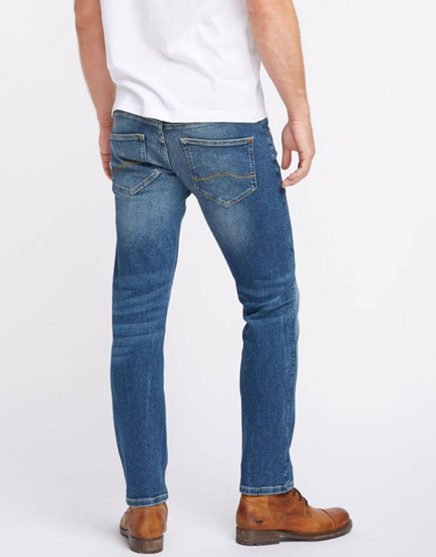 MUSTANG Oregon Tapered Jeans Blue - 4