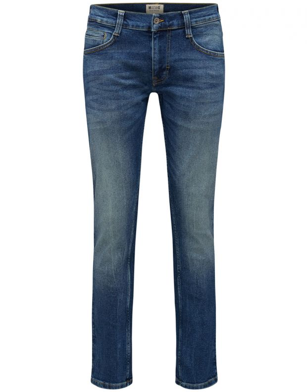 MUSTANG Oregon Tapered Jeans Blue - 5