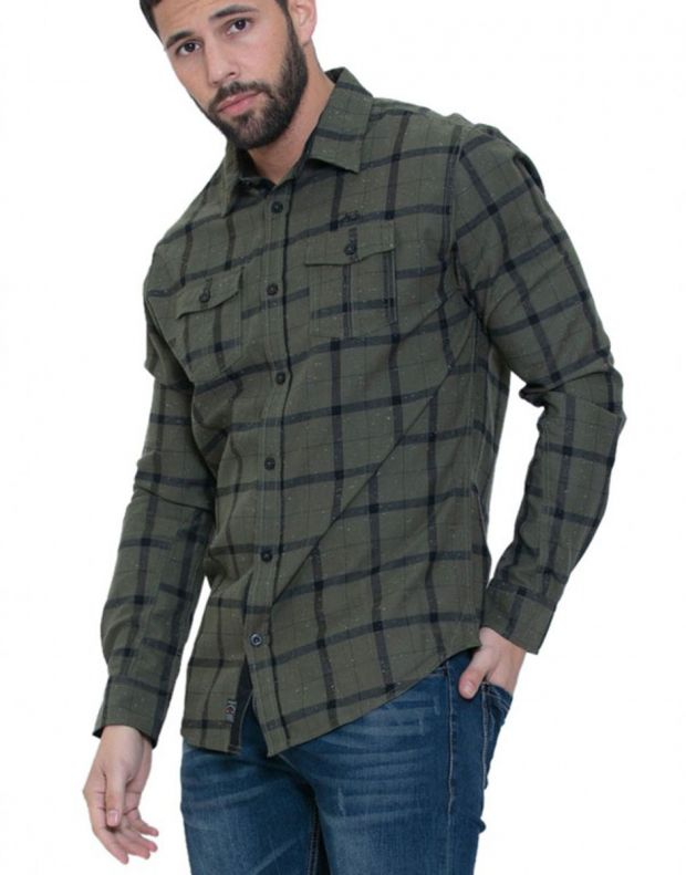 MZGZ Daker Shirt Green - Daker/green - 1