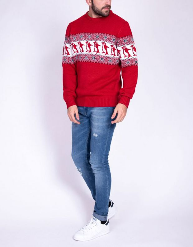 MZGZ Sochristmas Pullover Red - Sochristmas/red - 2