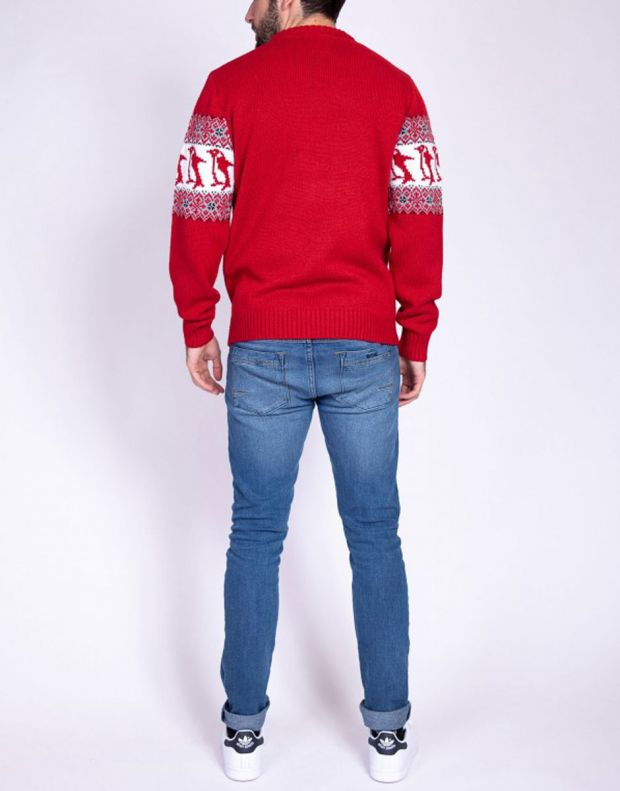 MZGZ Sochristmas Pullover Red - Sochristmas/red - 3