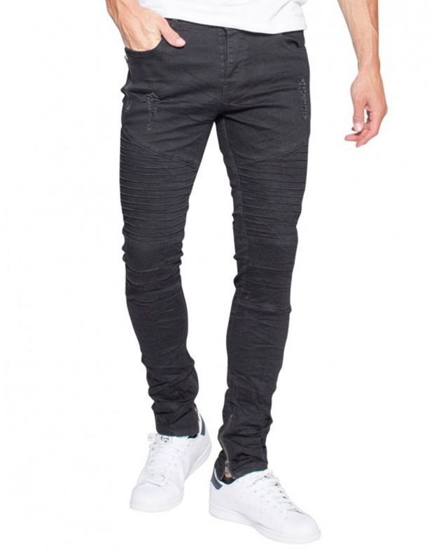 MZGZ Wrunk Jeans Black - Wrunk/black - 1
