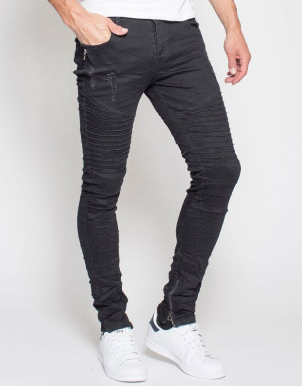 MZGZ Wrunk Jeans Black - Wrunk/black - 2