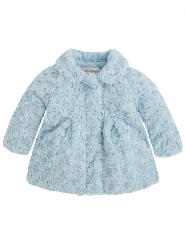 MAYORAL Bluebell Coat Blue - 1