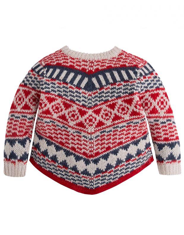 MAYORAL Fringe Knit Sweater - 2