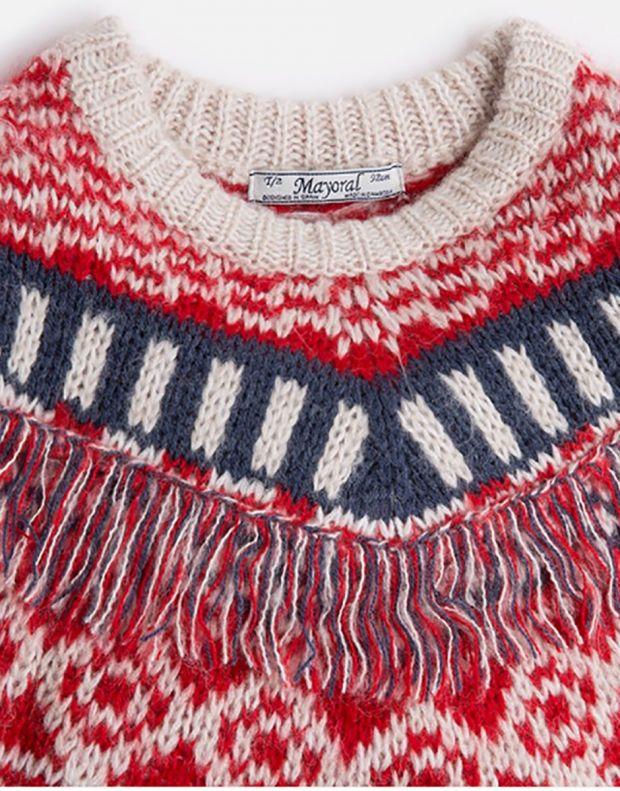 MAYORAL Fringe Knit Sweater - 3
