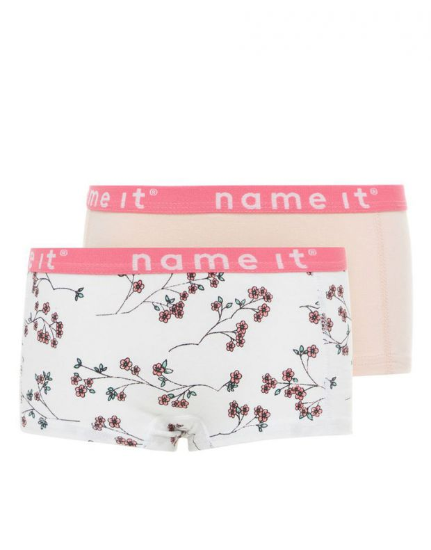NAME IT 2-pack Hipster Shorts Bright White - 13163598/white - 1