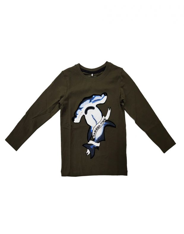 NAME IT Anchor Sweat Forest 13166634/forest