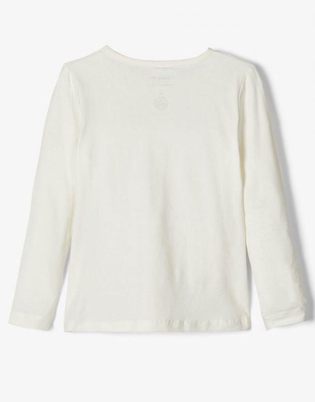 NAME IT Cat Long Sleeved Blouse White - 13164124/white - 2