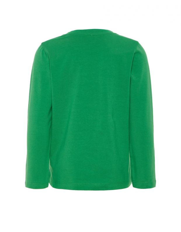 NAME IT Dino Printed Long Sleeved Blouse Green - 13161456/green - 2