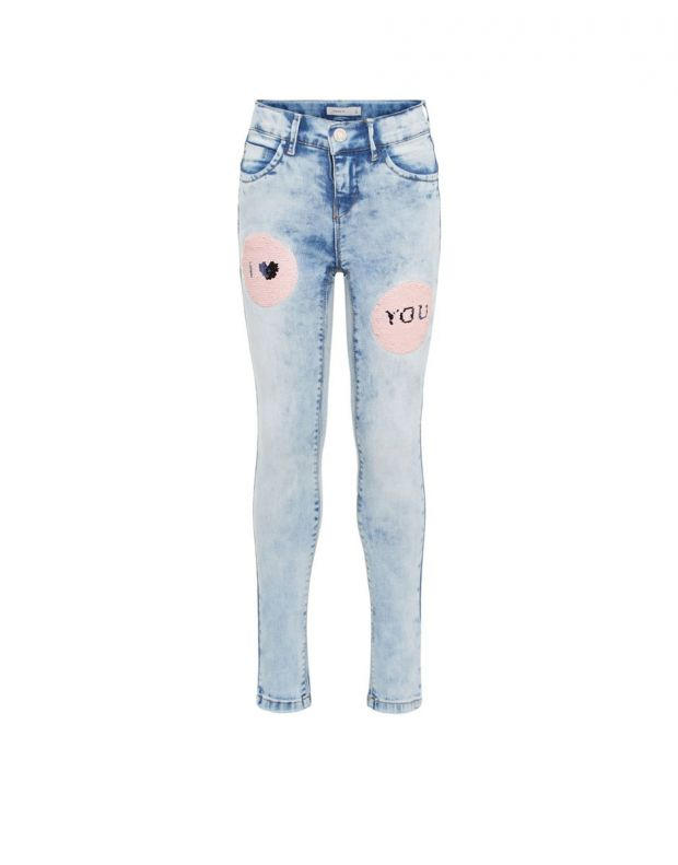 NAME IT Flip Sequin Skinny Fit Jeans - 13160498/denim - 1