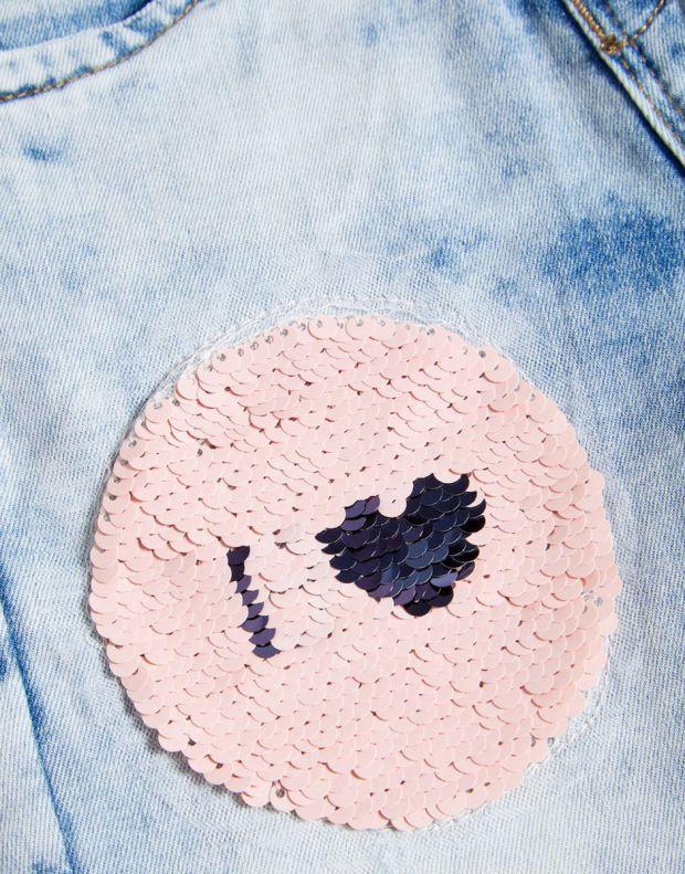 NAME IT Flip Sequin Skinny Fit Jeans - 13160498/denim - 3
