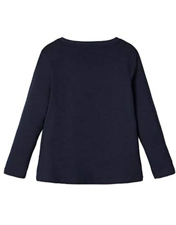 NAME IT George Pig Long-Sleeved Blouse D. Sapphire - 13182189/sapphire - 2