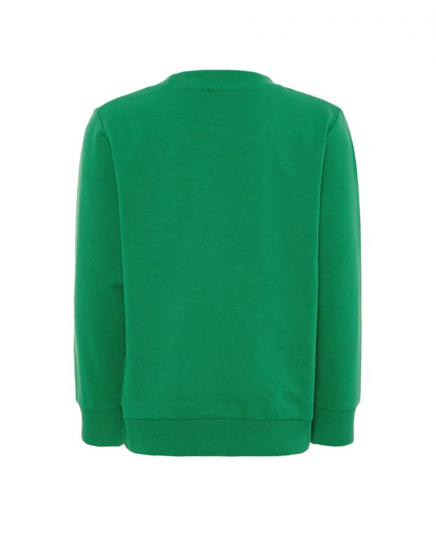 NAME IT Letter Printed Long Sleeved Blouse Green - 13162171/green - 2