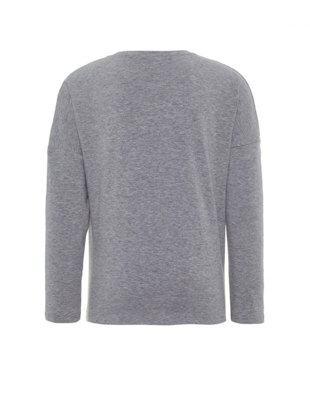 NAME IT Long Sleeved Flip Sequin Grey - 13160950/grey - 2