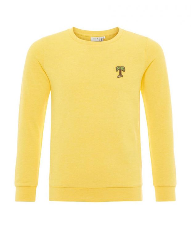 NAME IT Long Sleeved Palm - 13161296/yellow - 1