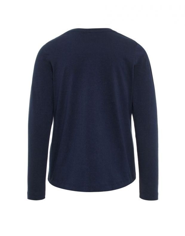 NAME IT Loose Fit Long Sleeved Blouse Navy - 13162146/navy - 2