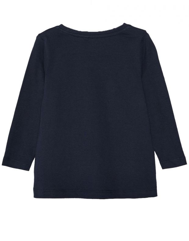NAME IT Mini Loose Fit Long Sleeved Blouse Navy - 13162130/navy - 2