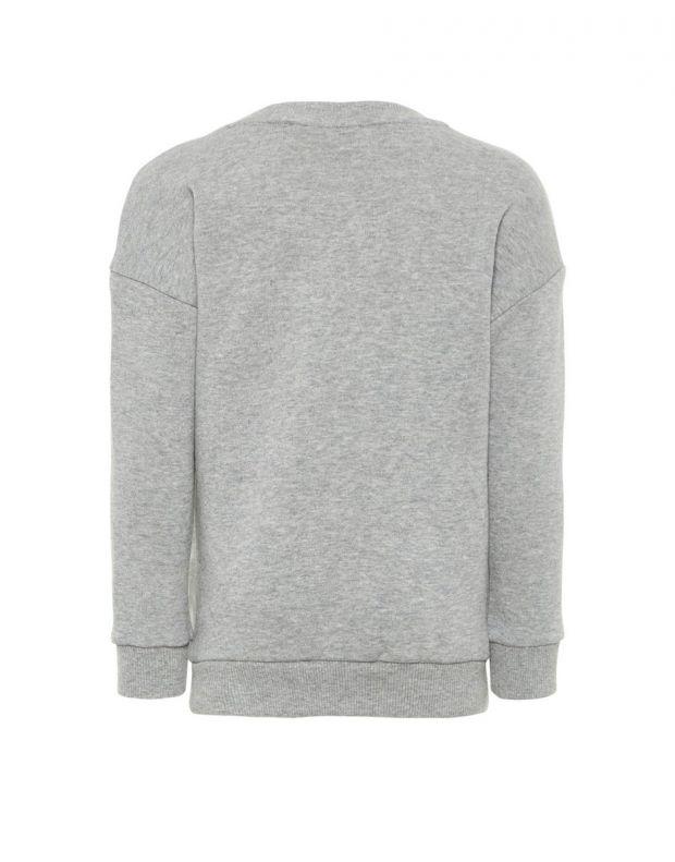 NAME IT Pom Pom Sweatshirt Grey - 13164795/grey - 2