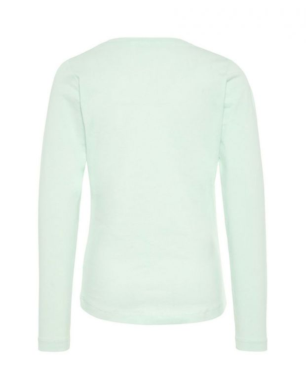 NAME IT Printed Long Sleeved Blouse Green - 2