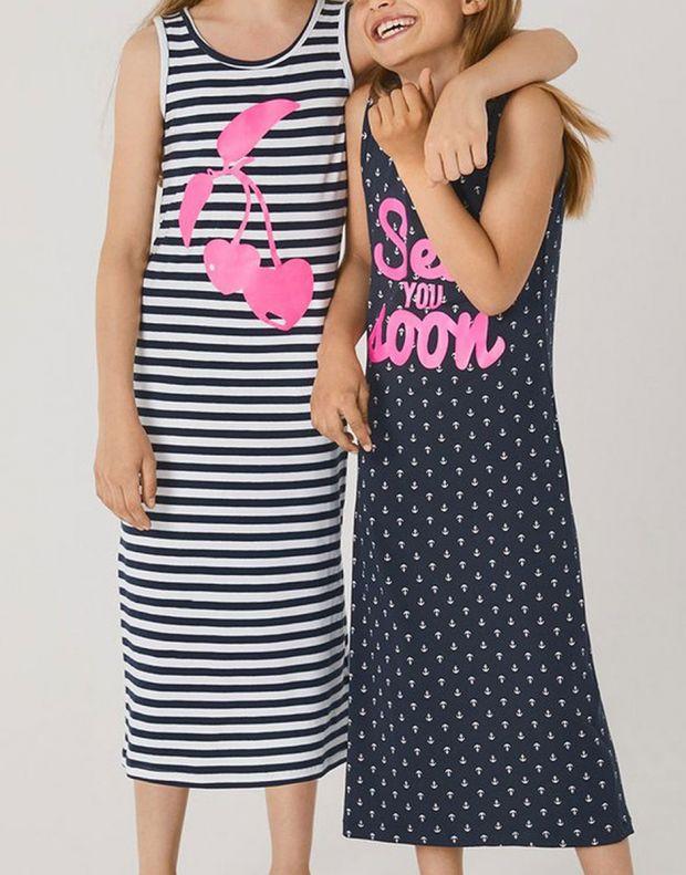 NAME IT Printed Maxi Dress White Cherry - 13161687/white cherry - 4