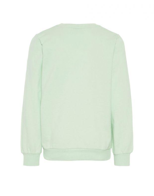 NAME IT Printed Sweatshirt Blouse Green - 13161284/spray - 2
